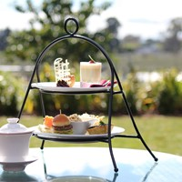 High tea at Zealong, Gordonton, NZ