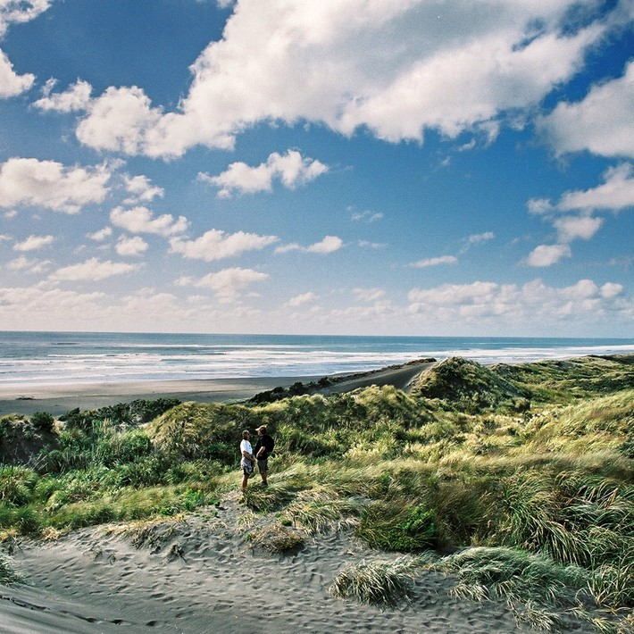 Ocean Beach,  Kawhia, New Zealand