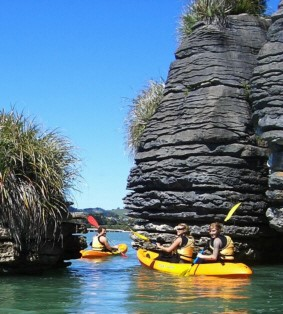 Kayaking at Raglan, Raglan, NZ