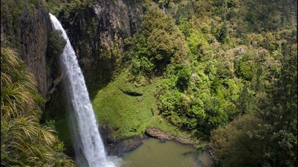 Bridal veil falls, Waikato Walks, Raglan, NZ