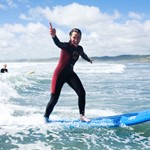 Raglan Surfing School, Raglan, New Zealand