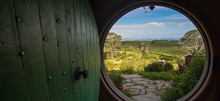 Hobbiton Movie Set, Bag End, Waikato, New Zealand