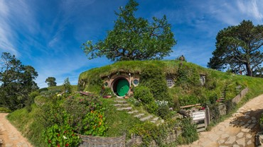 Middle-earth Movie Magic, Hobbiton Movie Set, Matamata, NZ
