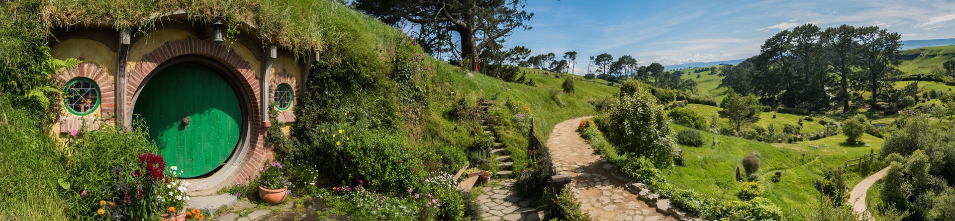 Middle-earth, Hobbiton Movie Set, Matamata, New Zealand