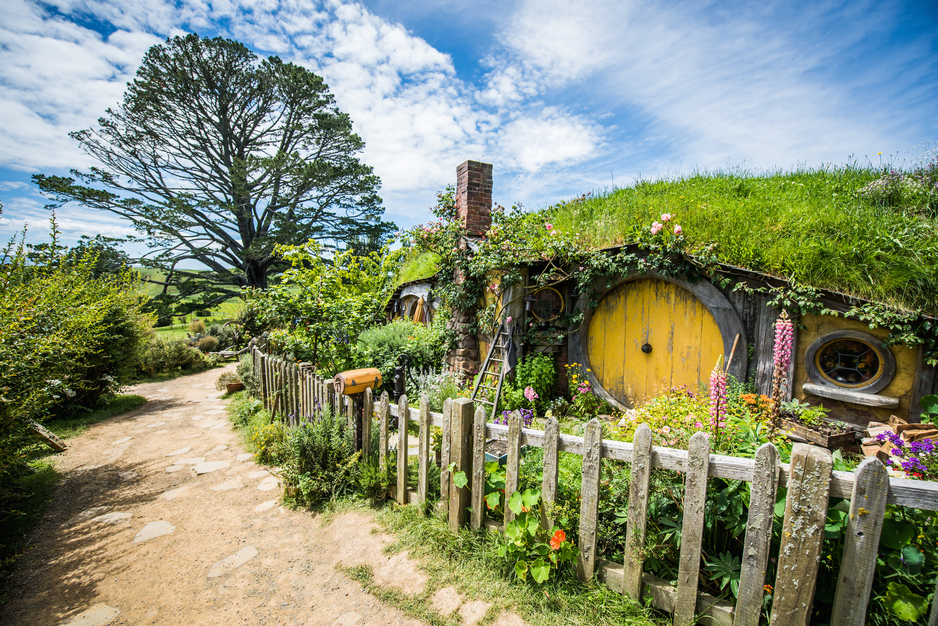 Island Home Of The Hobbit In Lord Of The Rings
