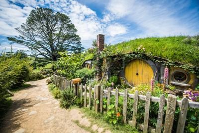 Hobbiton Movie Set Waikato New Zealand