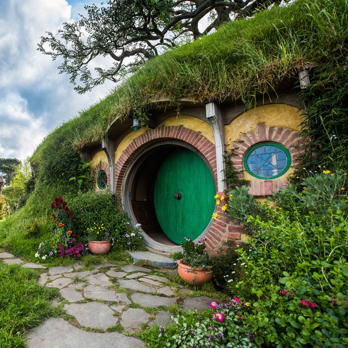 Bag End, Hobbiton Movie Set, Matamata, NZ.jpg