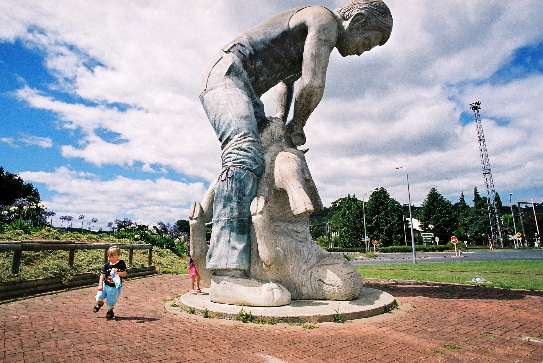 Shearing capital of NZ, Te Kuiti, New Zealand