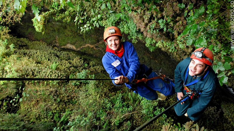 Waitomo Adventures, Lost World, Waitomo
