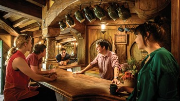 The Green Dragon Inn - Hobbiton Movie Set, NZ