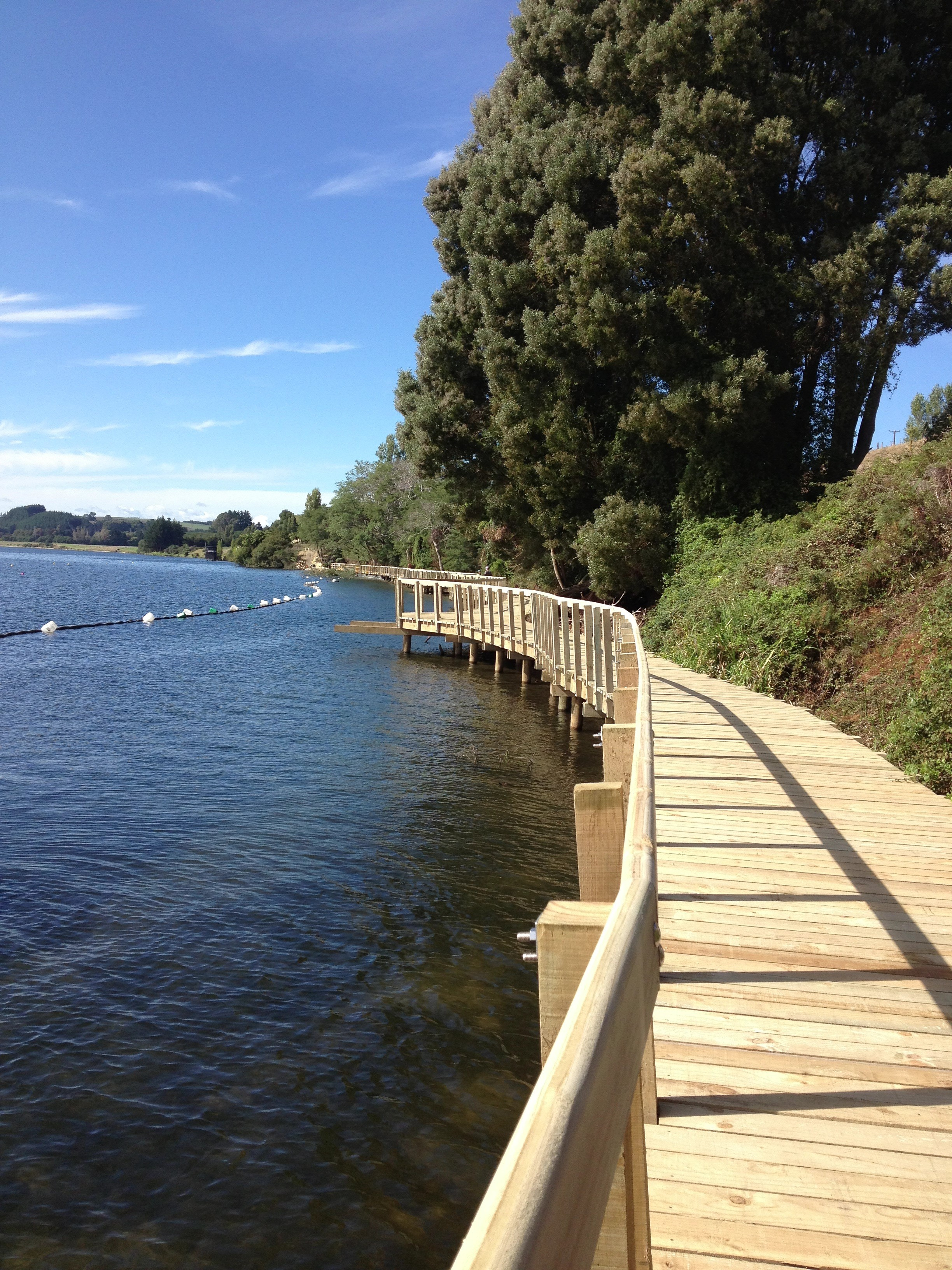 Te Awa River Ride, Lake Karapiro, New Zealand