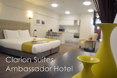 Clarion suites @ the ambassador hotel wins gold hamilton & waikato