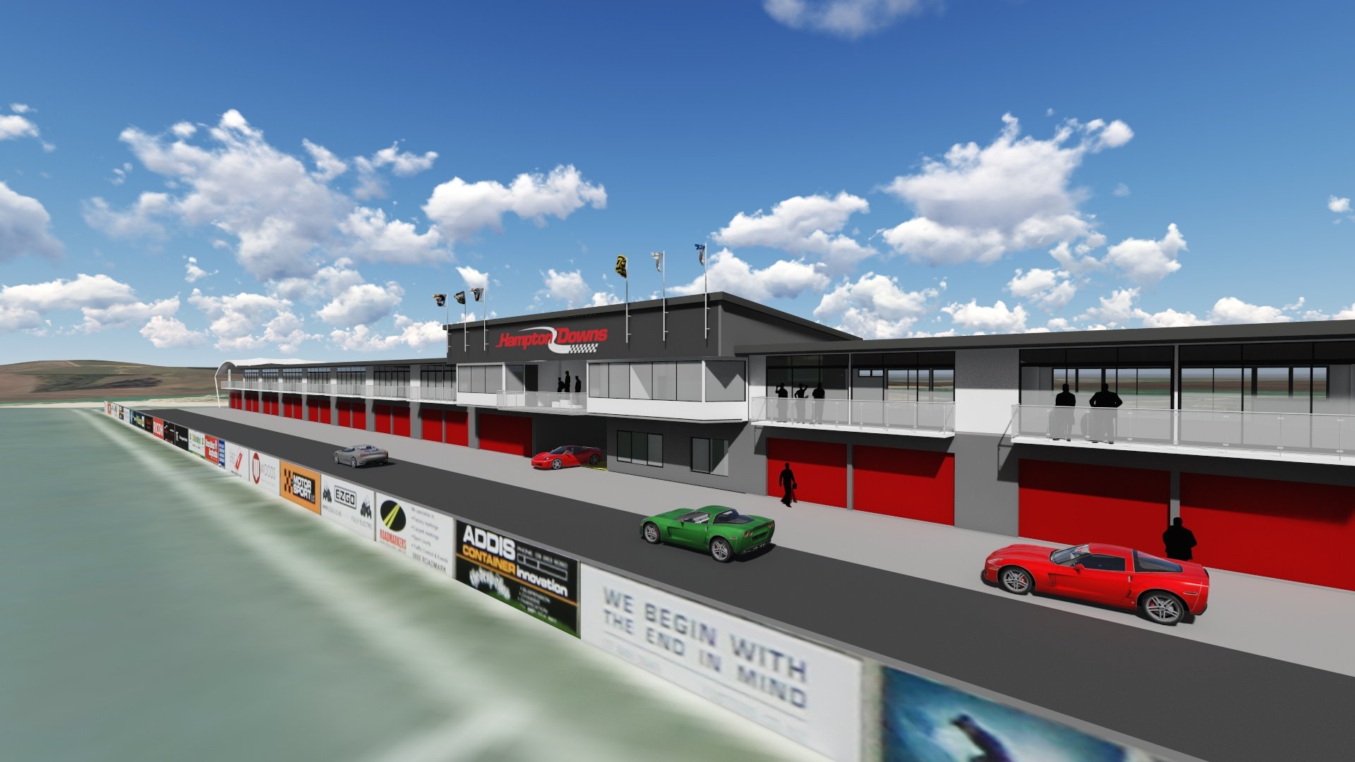 Developments at Hampton Downs