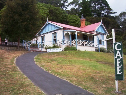 Domain cottage cafe, Te Aroha