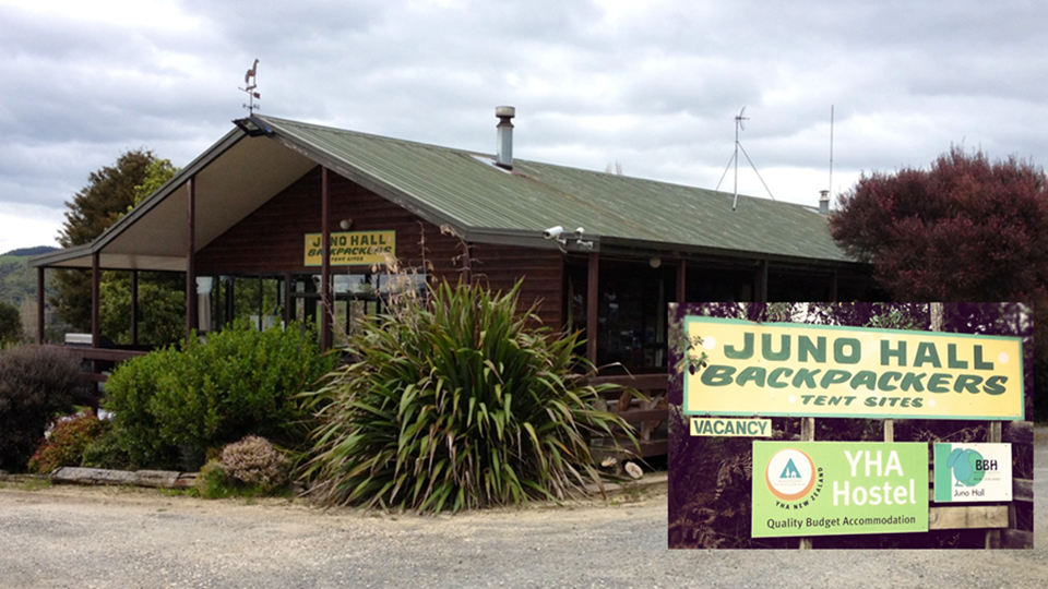 Juno Hall Backpackers, Waitomo