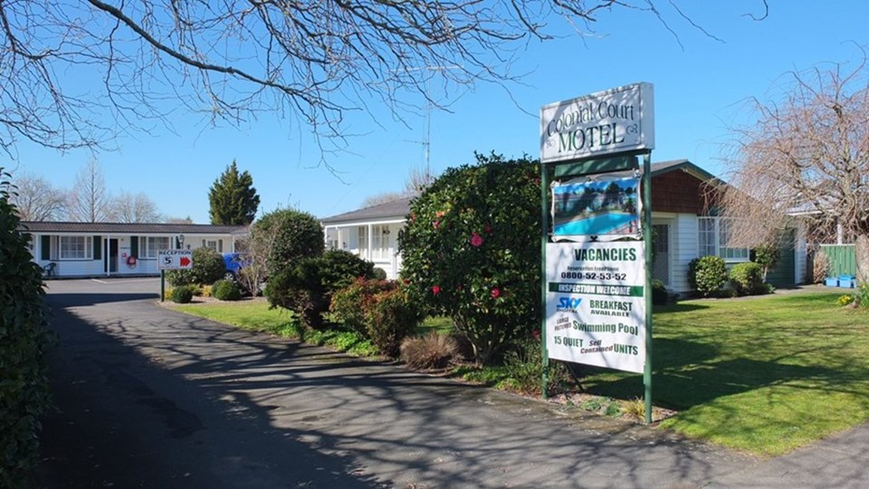 Colonial Court Motel, Waikato, NZ