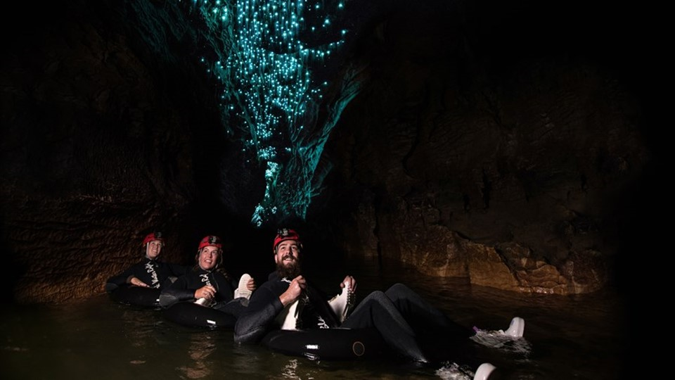 Legendary Black Water Rafting Co, Waitomo Caves, Waikato, NZ