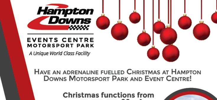 Hampton Downs Christmas Packages Waikato
