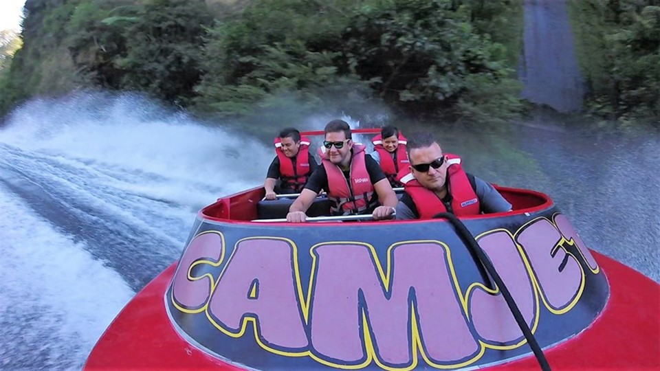 CAMJET Cambridge Jet Boat Tours, Waikato, NZ