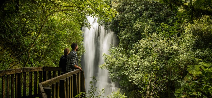 Waitanguru Falls Walk, Waitomo, NZ