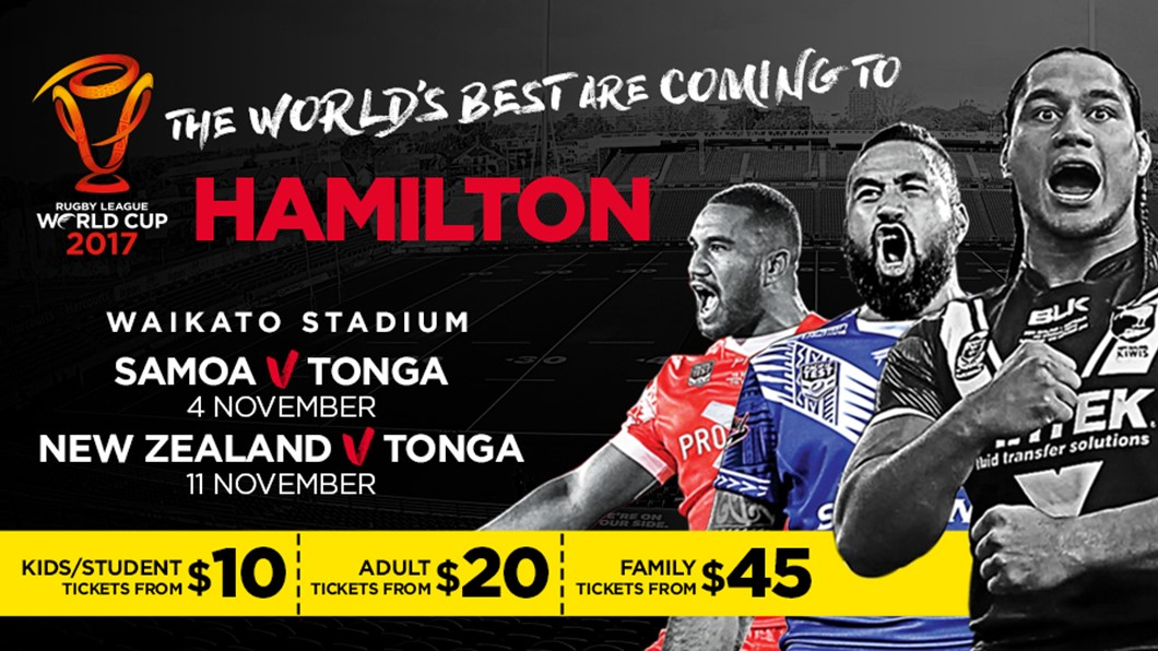 Rugby League World Cup 2017 Hamilton NZ