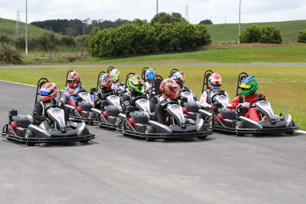 Hampton Downs Go Karts