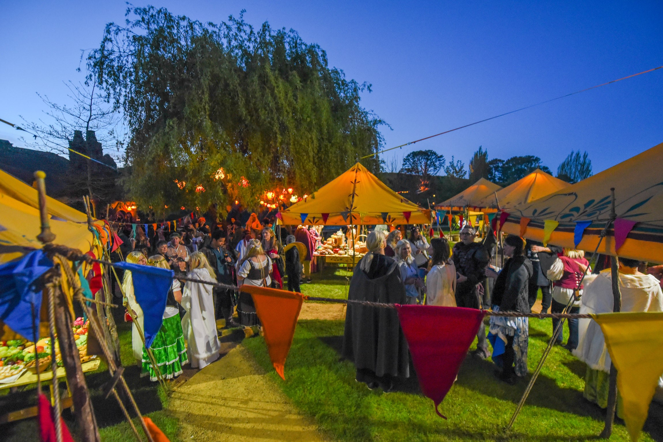 Summer Harvest Festival for Hobbiton Movie Set