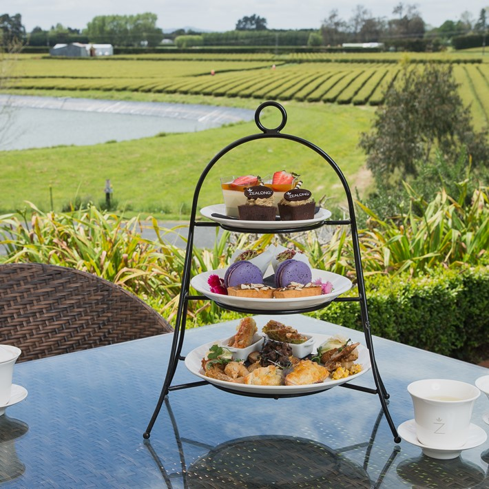 Zealong Tea Estate High Tea, Waikato NZ