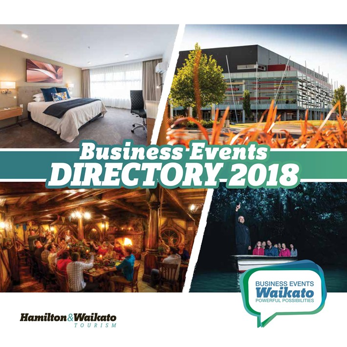 Hamilton & Waikato Business Events Directory 2018