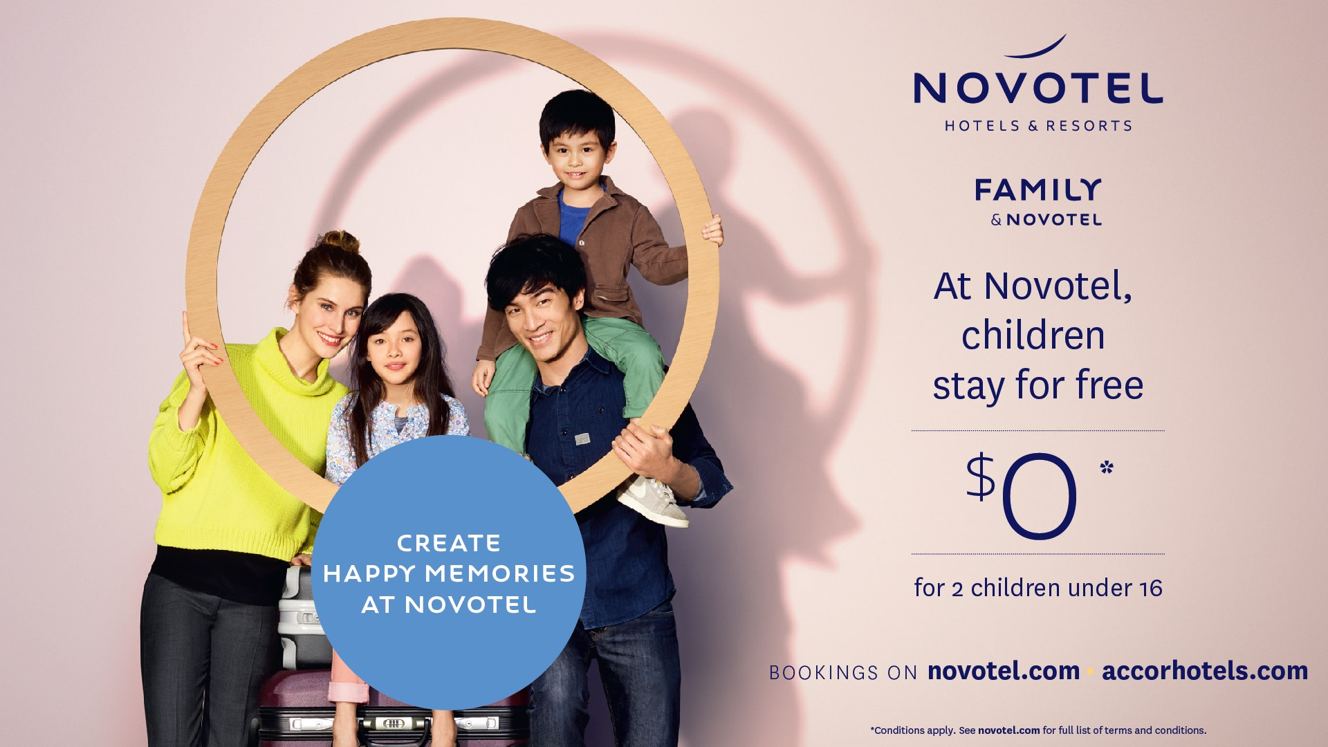 Kids stay free at Novotel Tainui Hamilton