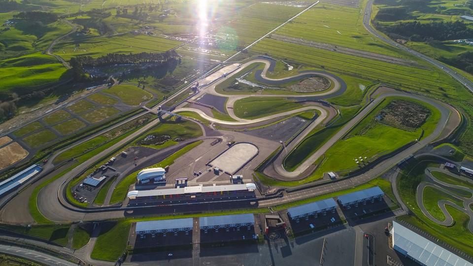 Hampton Downs Motorsport Park Aerial