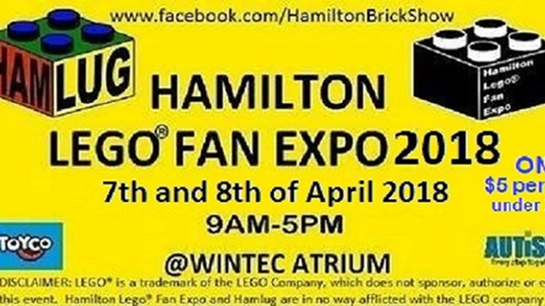 Hamilton LEGO(R) Fan Expo 2018, Craft & Object Art, The Atrium, Wintec City Campus, Hamilton, Waikato