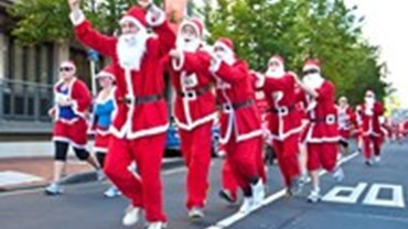 The Great NZ Santa Run/Walk, Fun Runs & Walks, Hamilton City Hawks Clubrooms, Hamilton, Waikato