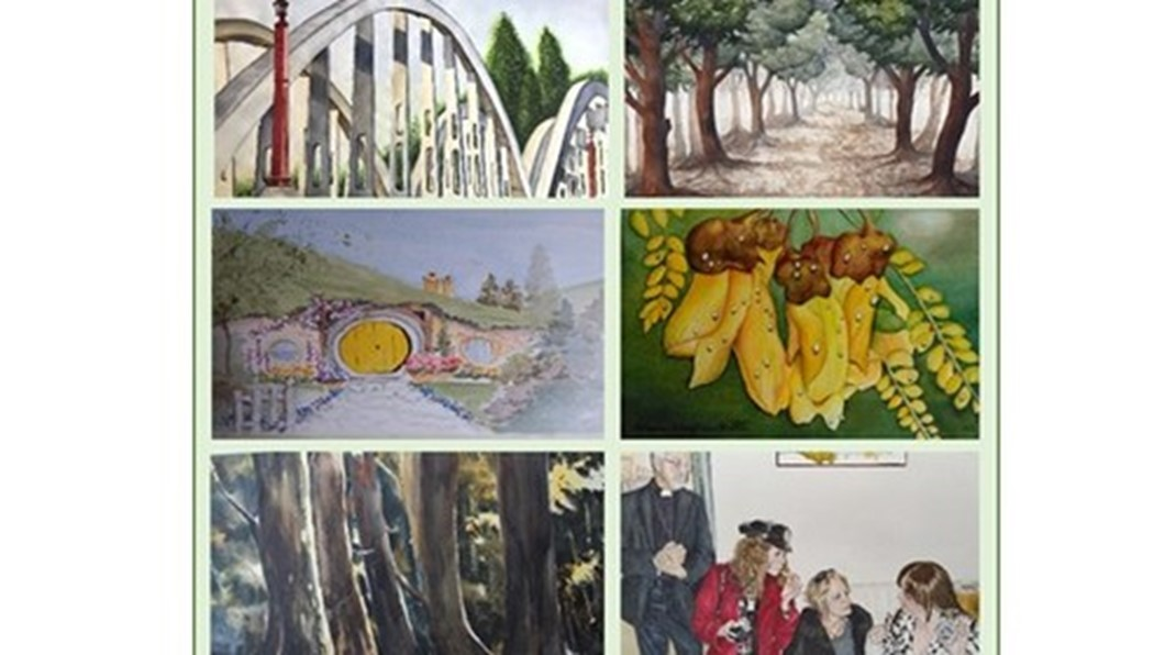 The Waikato Watercolourists Exhibition, Contemporary Art, Welcome Swallow Gift Shop and Gallery, Hamilton, Waikato