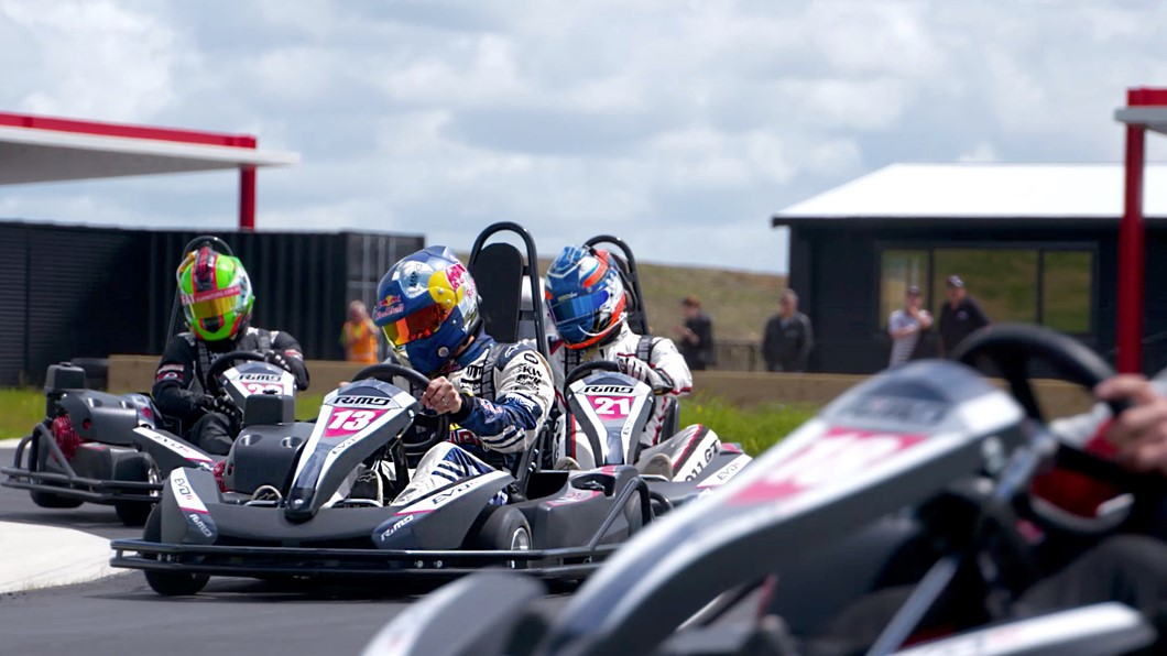There is nothing more exhilarating than a blast on the Hampton Downs Go-Karts! Choose from single or tandem karts. Challenge your friends or bring the family, and set your fastest lap time on our 530m or 800m Go Kart tracks.