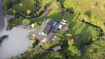 The Cafe seen from above