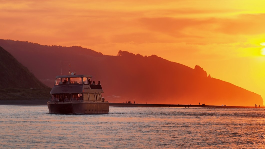 Have a little fun and romance on a sunset cruise!