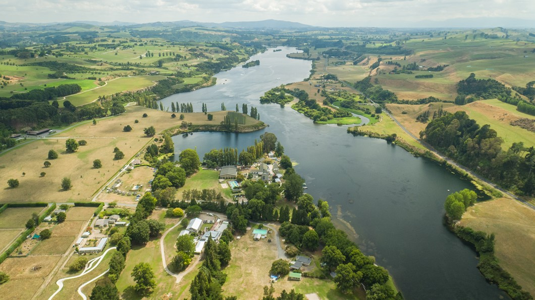 Epworth beside the Waikato River