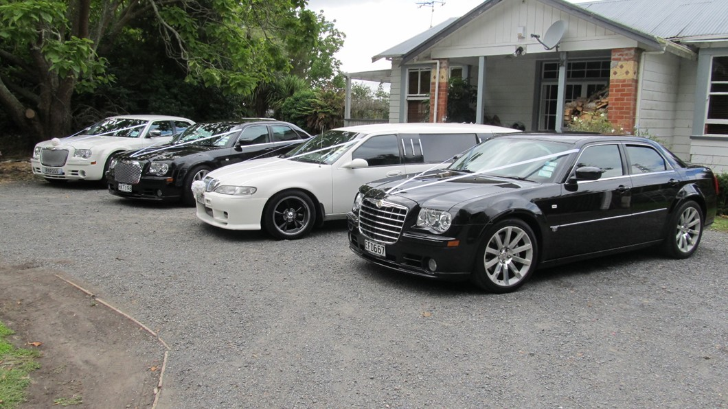 Luxury Vans, American sedans and Limousines available