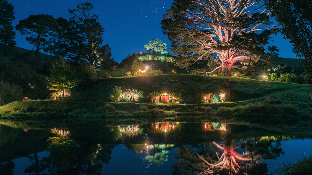 The Hobbiton Lights
