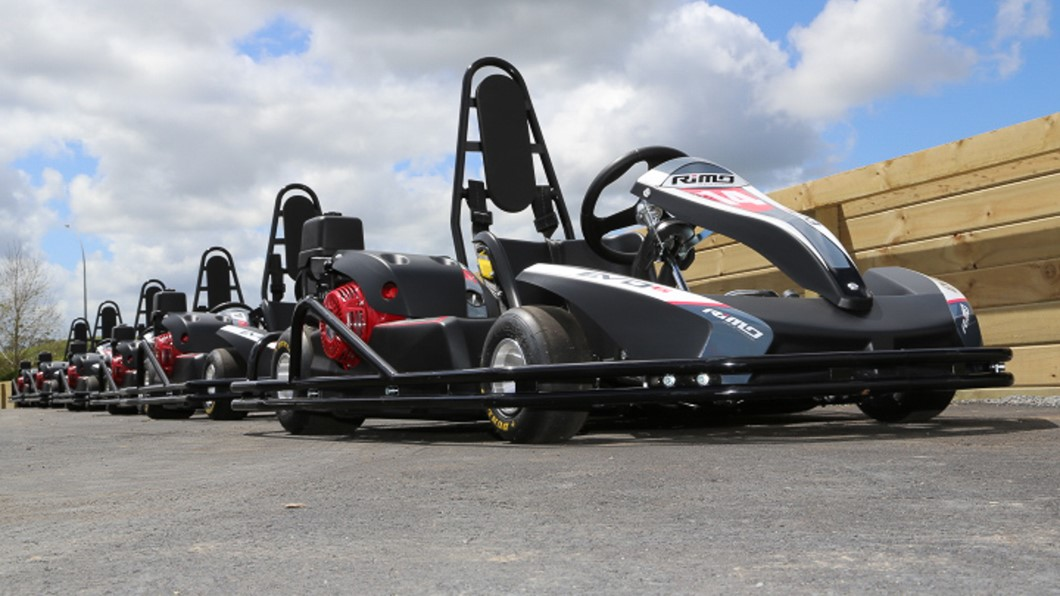 There is nothing more exhilarating than a blast on the Hampton Downs Go-Karts! Choose from single or tandem karts. Challenge your friends or bring the family, and set your fastest lap time on our 530m Go Kart track. Great for individuals or groups!