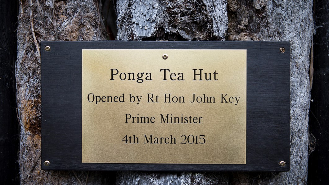 Tea Hut Opening