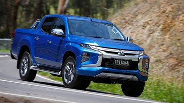 Mitsubishi Triton 4WD Double Cab from $79 per day.