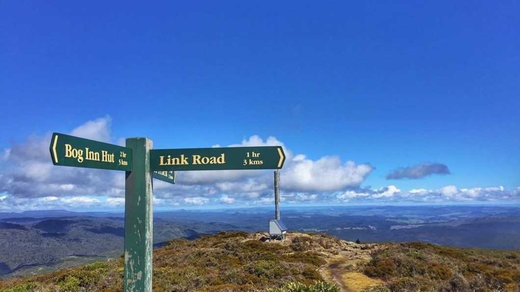 New Zealand walking tracks leading to 360 degree views