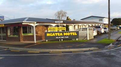 Ngatea Motel location