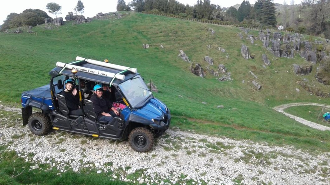 Our specially designed all terrain ATV