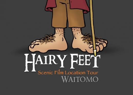 Hairy Feet Waitomo | Logo