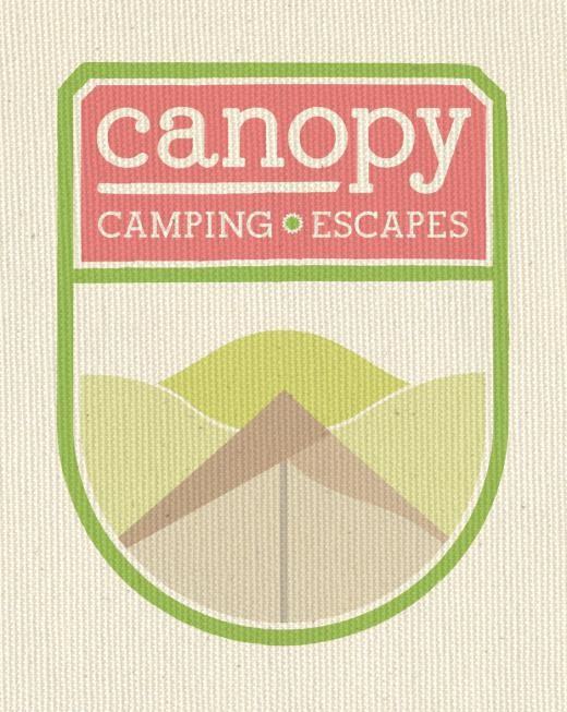 Canopy Camping Escapes | Logo